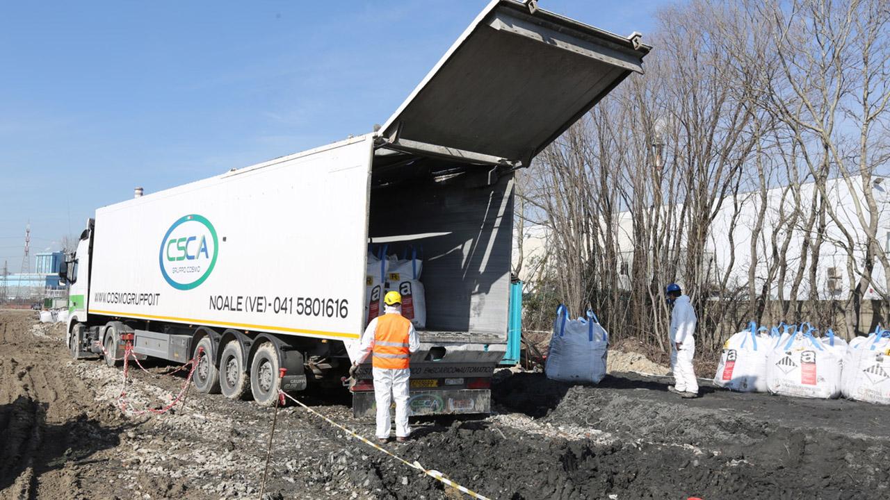 Smaltimento rifiuti speciali